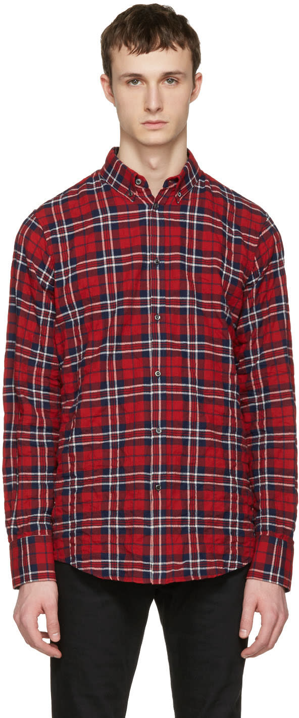 Dsquared2 Red Check Shirt