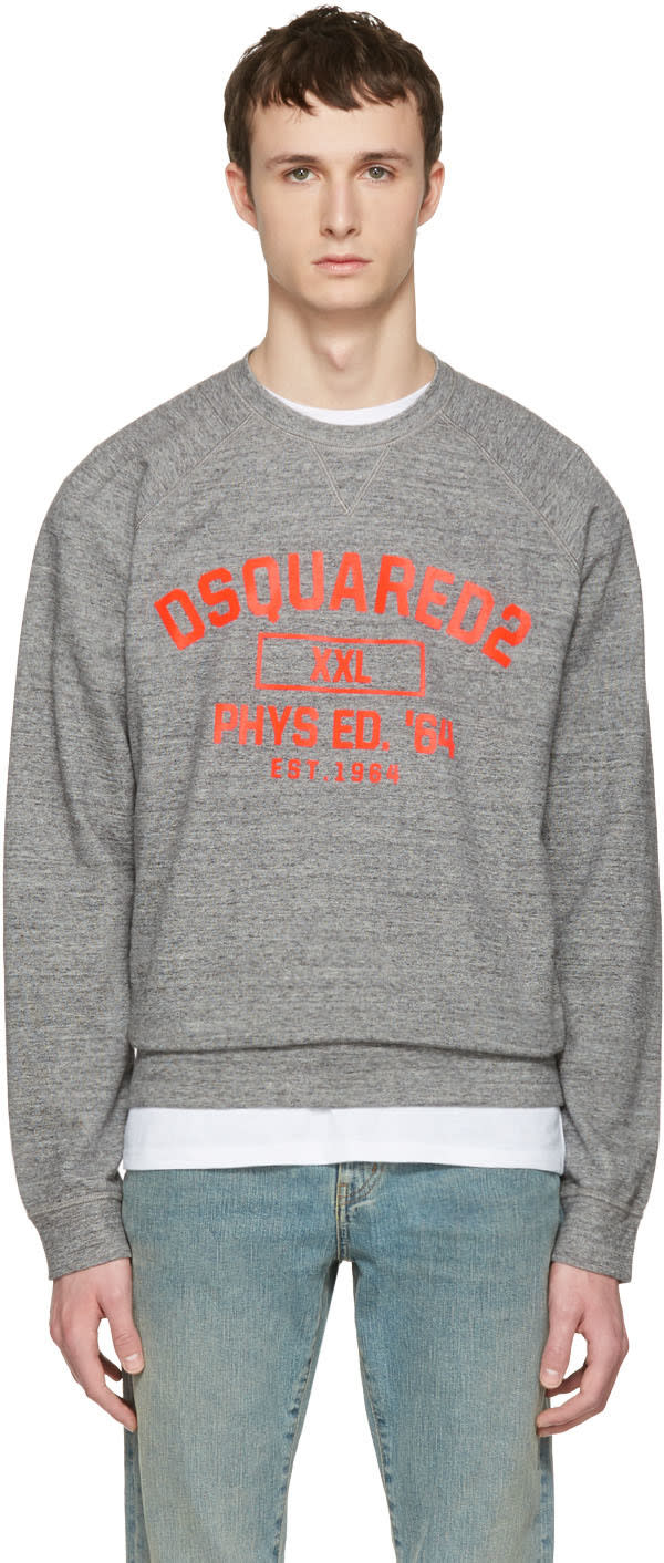 Dsquared2 Grey Logo Pullover