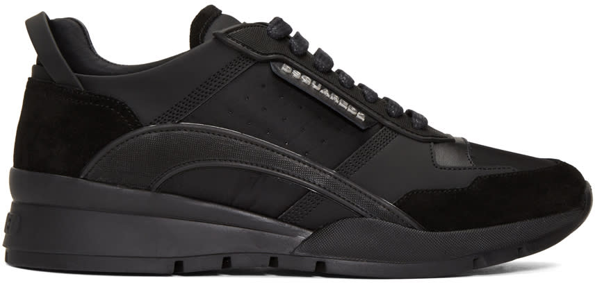 Dsquared2 Black Panelled Sneakers