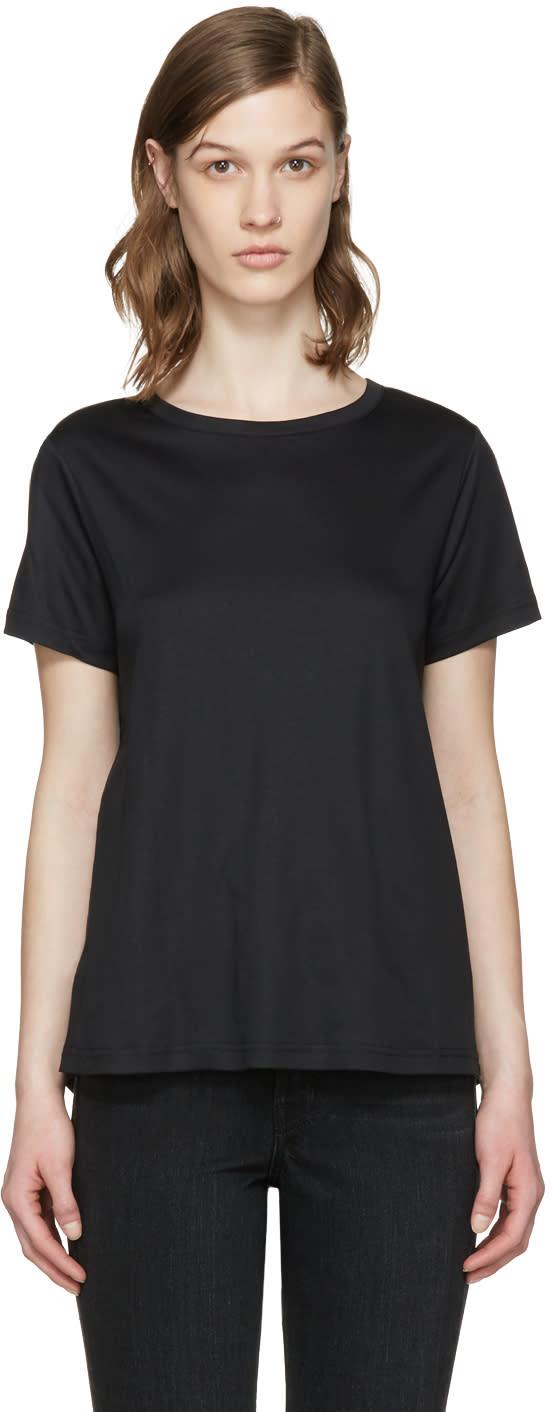 Helmut Lang Black Tie T-shirt