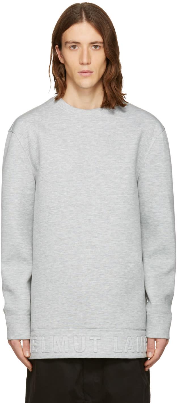 Helmut Lang Grey 3d Pullover