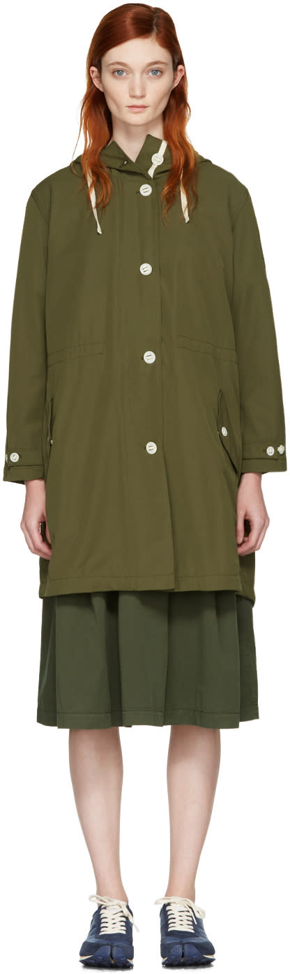 Ymc Green Mathilda Parka