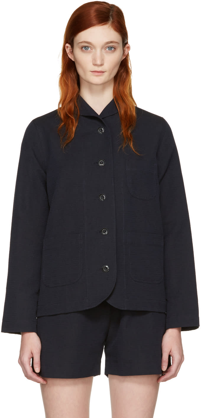 Ymc Navy Cousteau Jacket