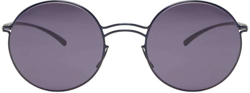 Maison Margiela Navy Mykita Edition Mmesse013 Sunglasses