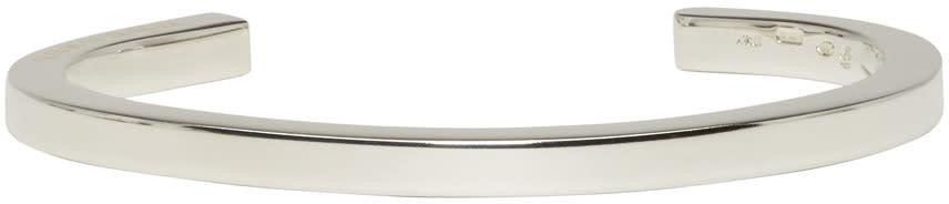 Maison Margiela Silver Solid Cuff