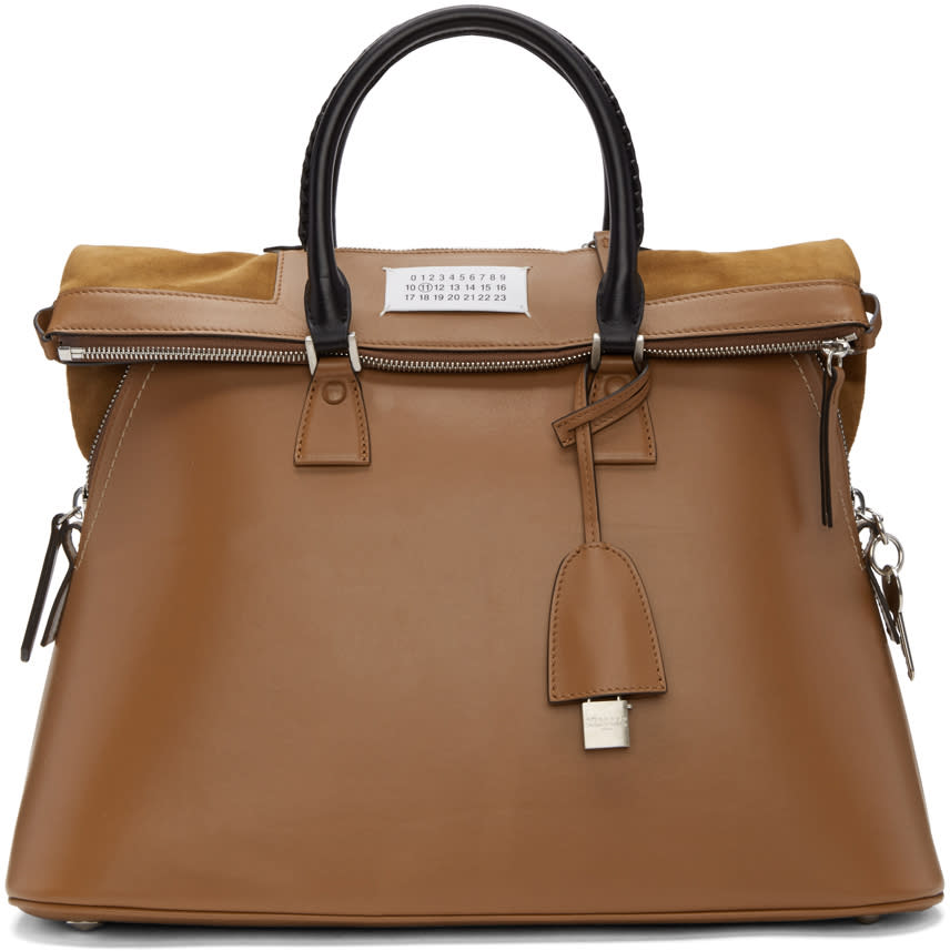 Maison Margiela Brown Large 5ac Bag