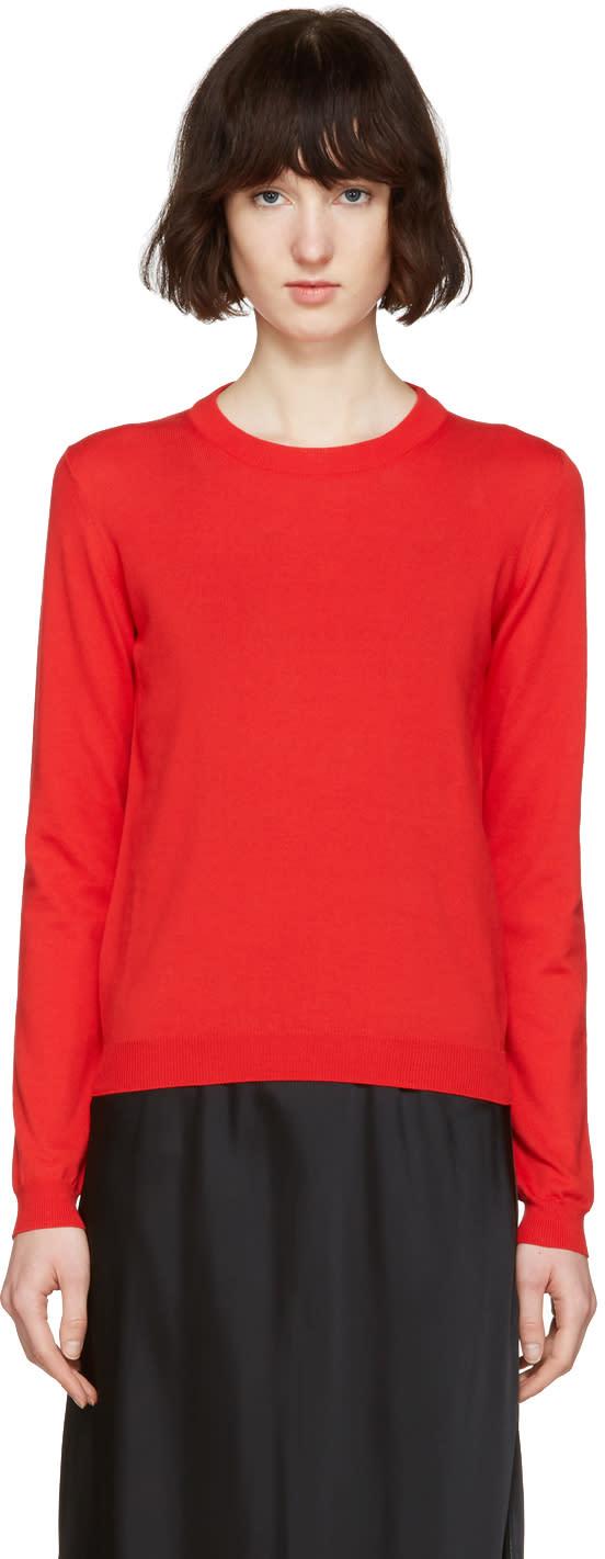 Maison Margiela Red Gauge 14 Sweater