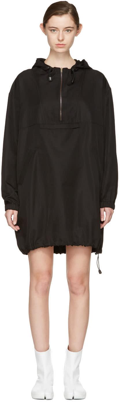 Maison Margiela Black Hooded Dress