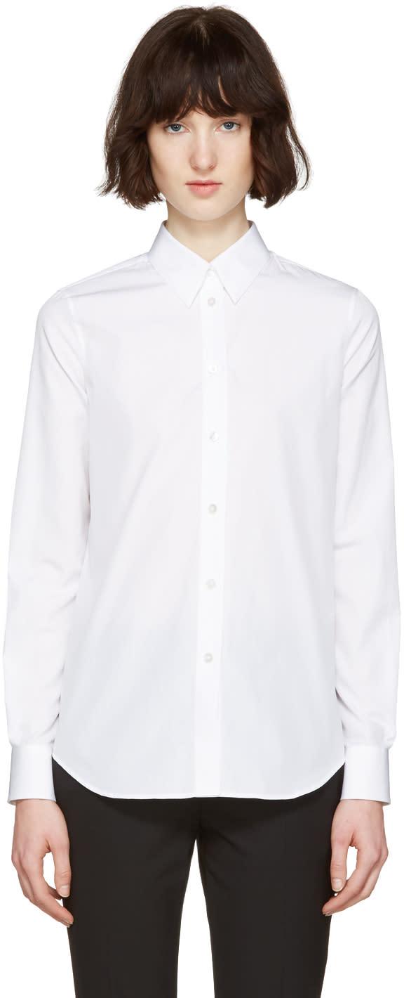 Maison Margiela White Poplin Pure Shirt