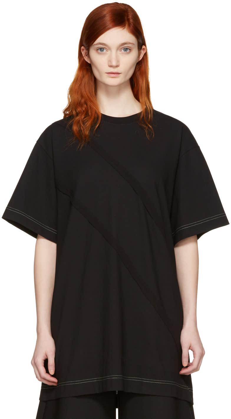Maison Margiela Black Panelled T-shirt
