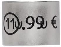 Maison Margiela Silver Euro Ring