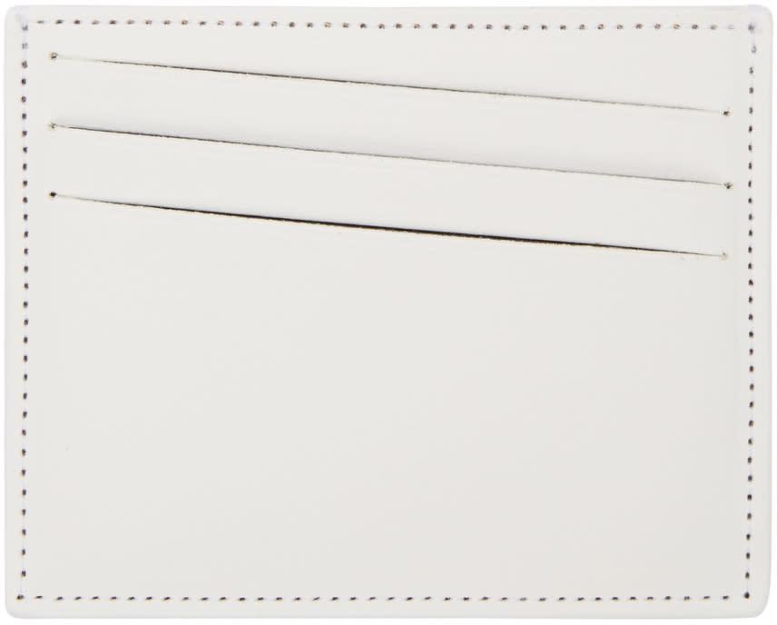 Maison Margiela White Classic Card Holder