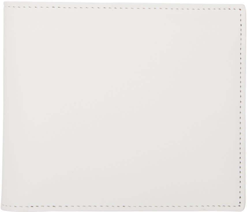 Maison Margiela White Bifold Wallet
