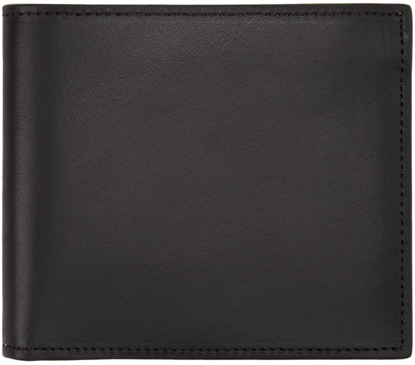 Maison Margiela Black Leather Wallet