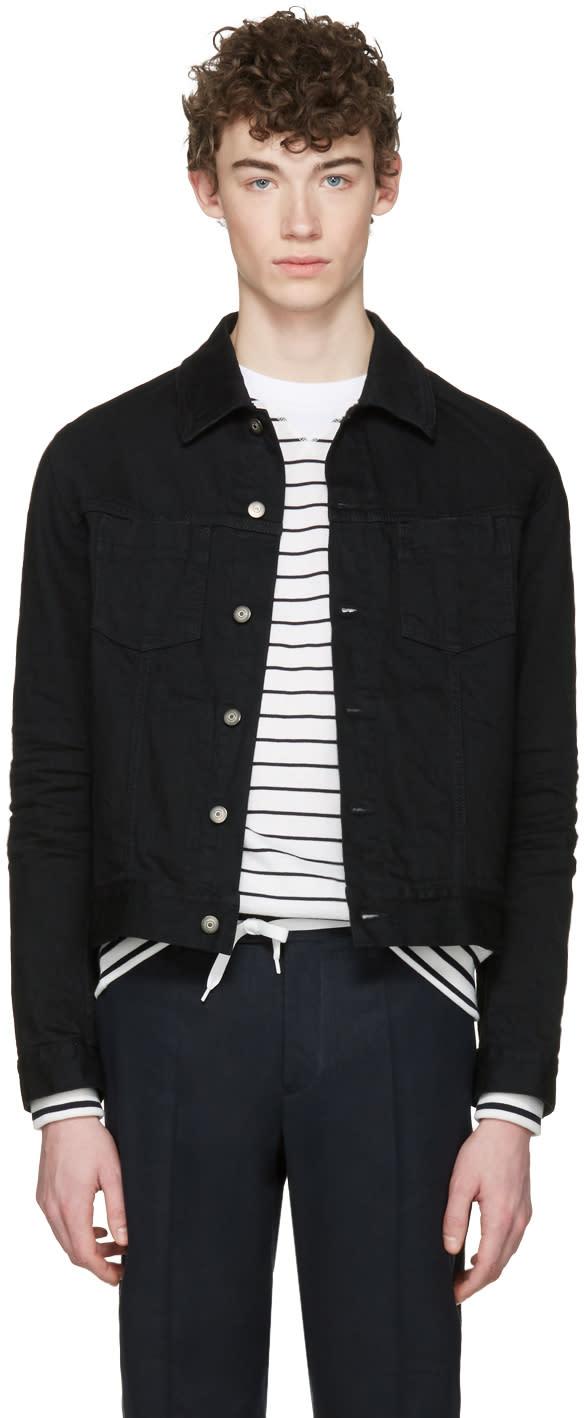 Maison Margiela Black Denim Jacket