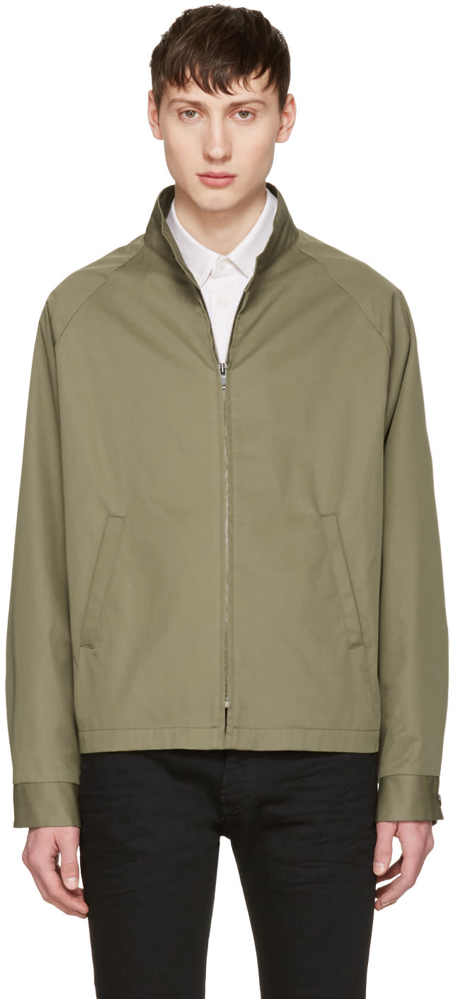 Maison Margiela Green Barracuda Jacket