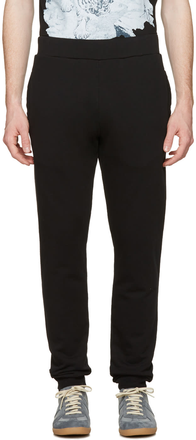 Maison Margiela Black Slim Lounge Pants