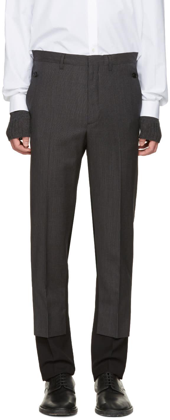 Maison Margiela Black Contrast Trousers