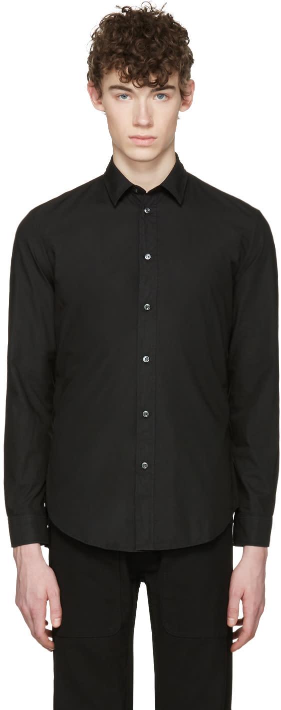 Maison Margiela Black Garment-dyed Shirt