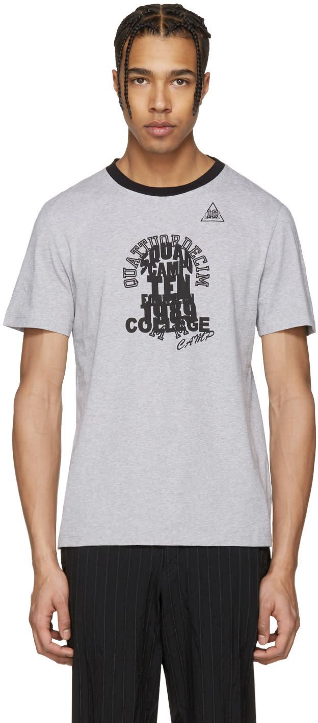 Maison Margiela Grey Ringer T-shirt