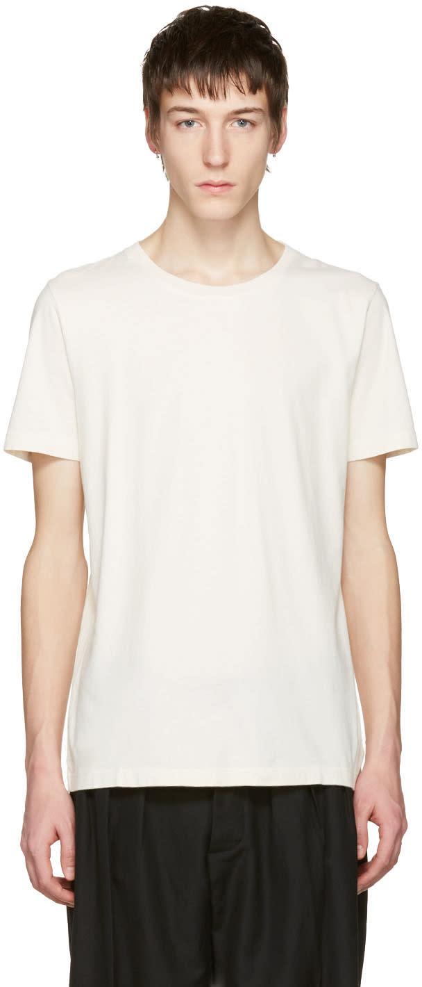 Maison Margiela Three-pack Multicolor Assorted T-shirts