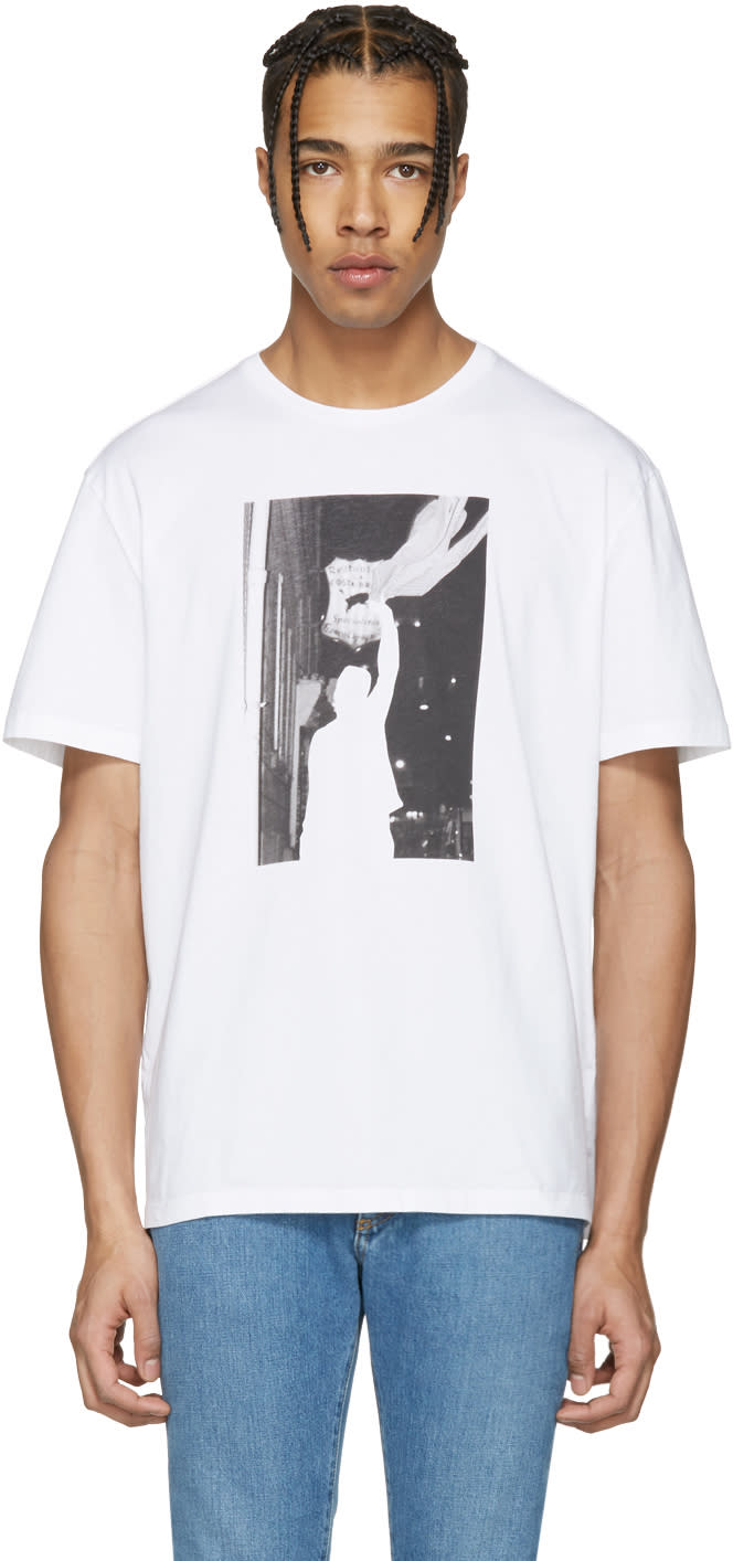 Maison Margiela White Graphic T-shirt