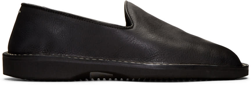 Maison Margiela Black Babouche Loafers