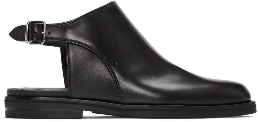 Maison Margiela Black Hybrid Boots