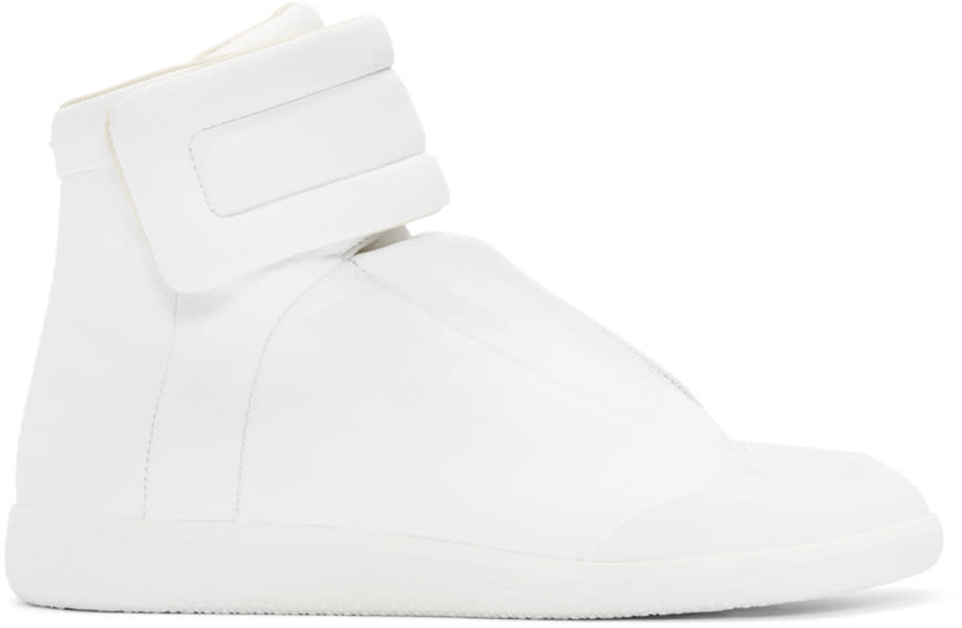 Maison Margiela White Future High-top Sneakers