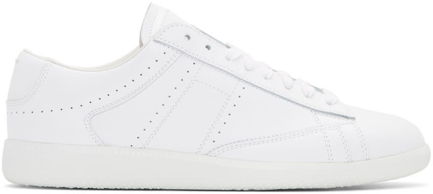 Maison Margiela White Ace Sneakers