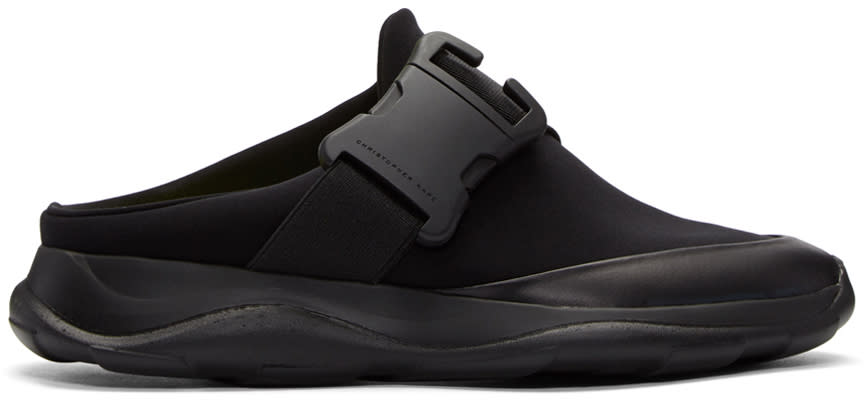 Christopher Kane Black Spoiler Sneakers