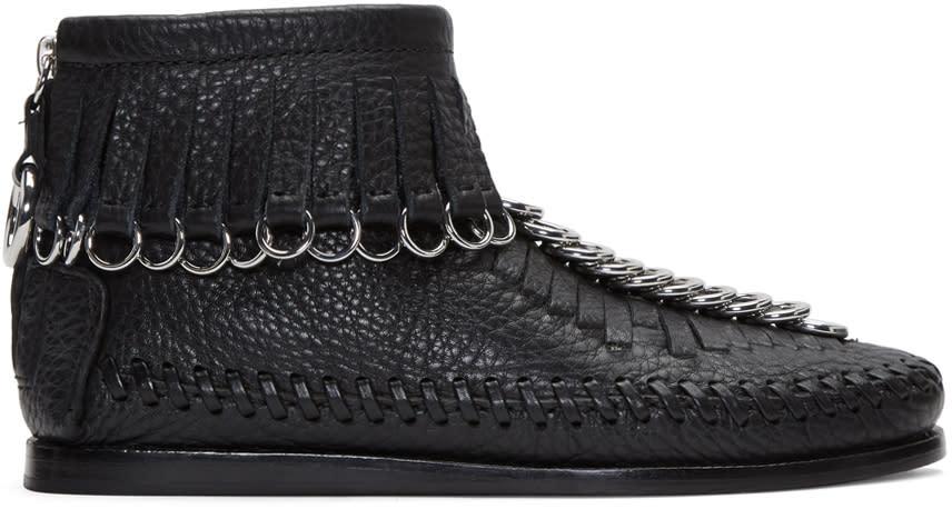 Alexander Wang Black Montana Moccasin Boots