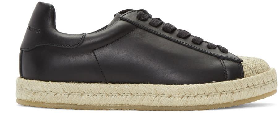 Alexander Wang Black Rian Espadrille Sneakers