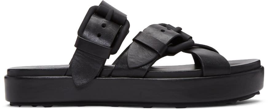 Alexander Wang Black Kriss Sandals