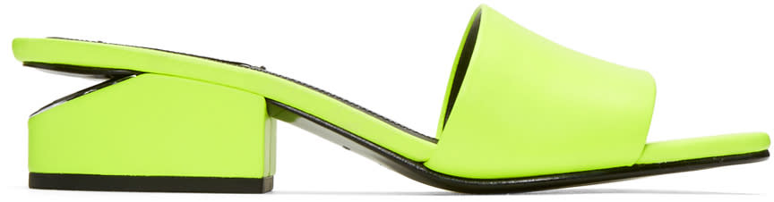 Alexander Wang Yellow Lou Sandals
