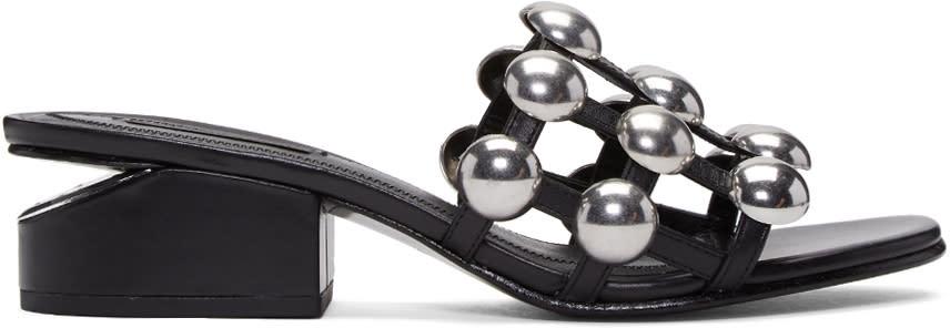 Alexander Wang Black Lou Sandals