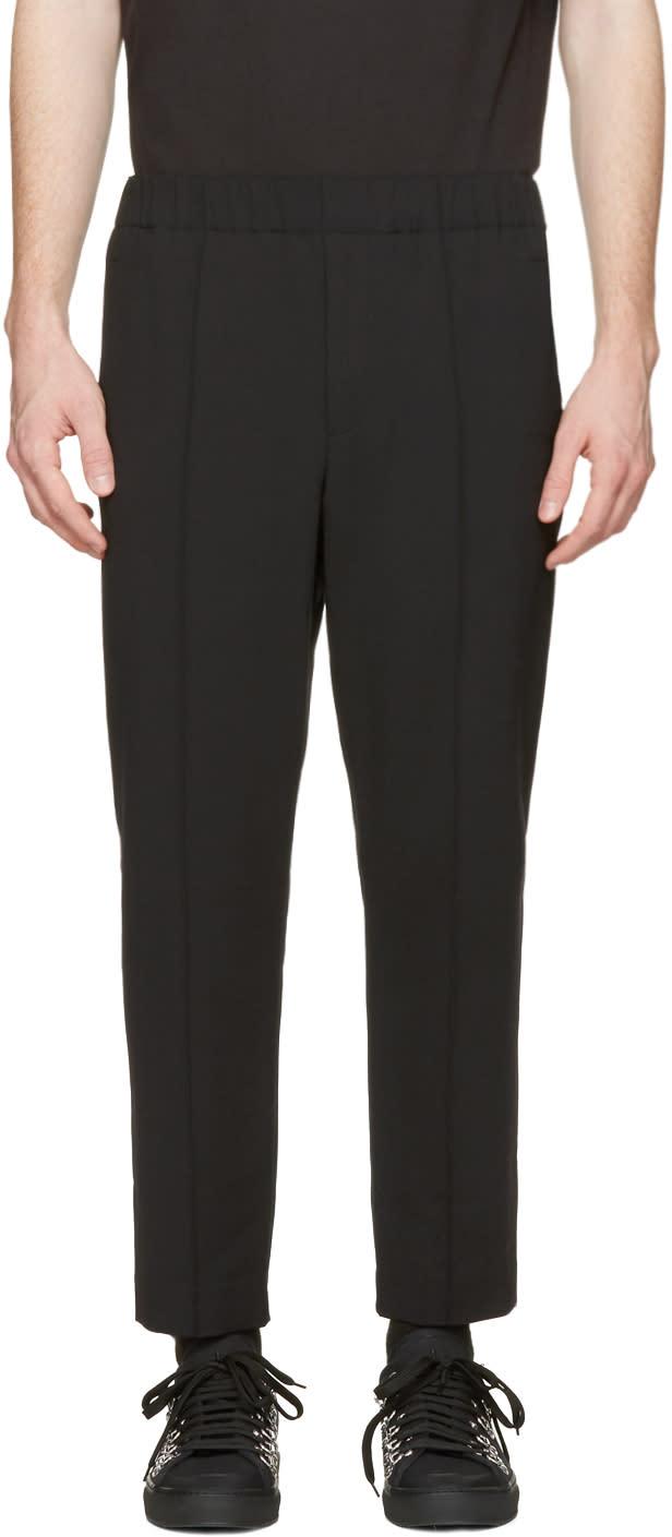 Alexander Wang Black Tailored Lounge Pants