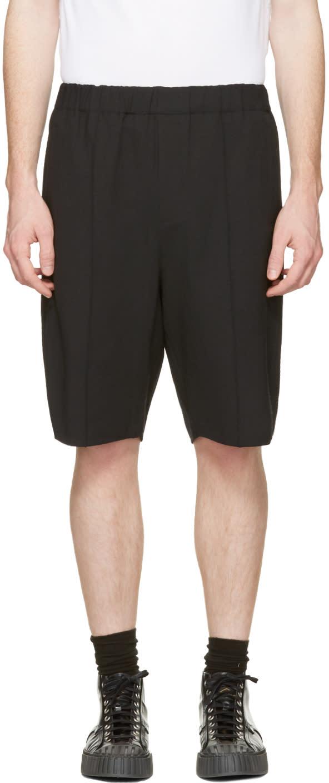 Alexander Wang Black Tailored Lounge Shorts