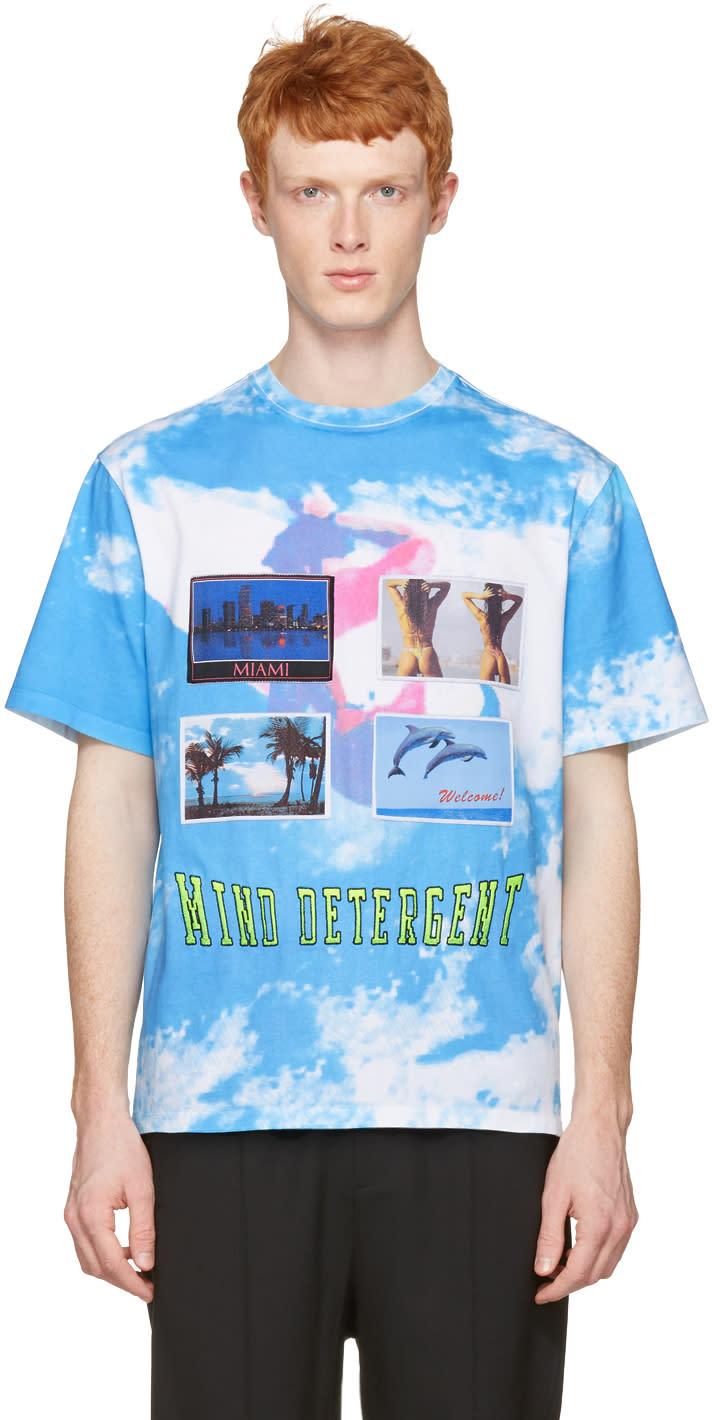 Alexander Wang Blue Postcard T-shirt