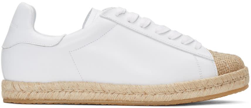 Alexander Wang White Rian Espadrille Sneakers