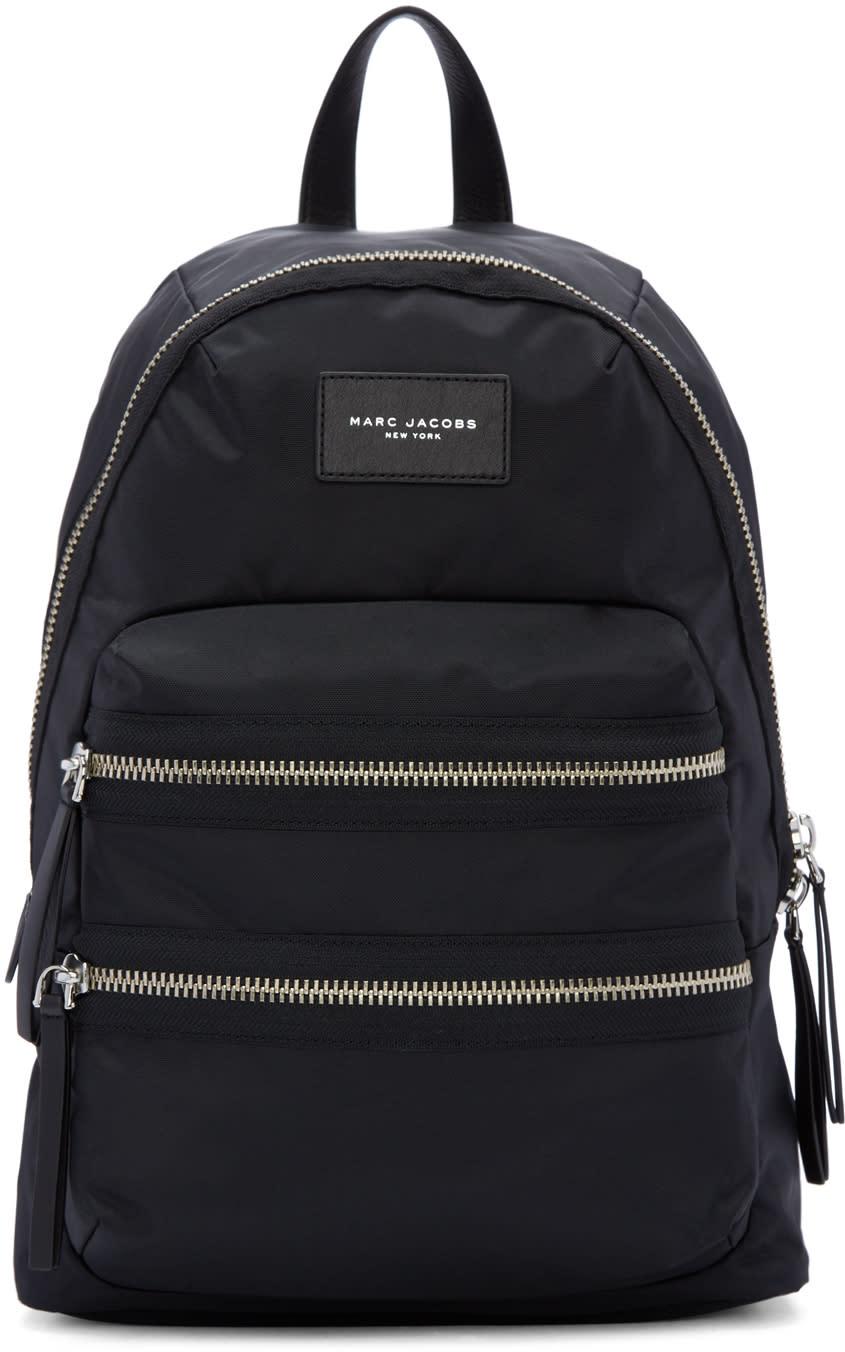 marc jacobs female marc jacobs black nylon biker backpack