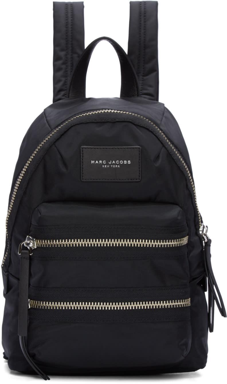 marc jacobs female marc jacobs black mini biker backpack