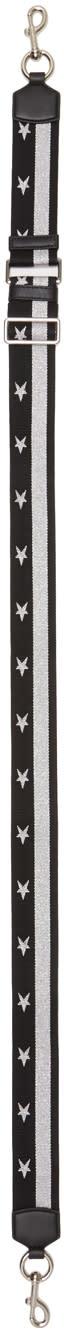 marc jacobs female marc jacobs black stars and stripes shoulder strap