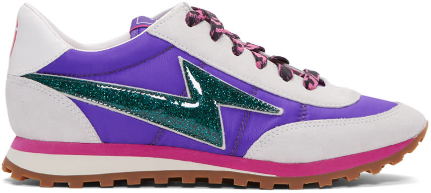 Marc Jacobs Purple Astor Jogger Sneakers