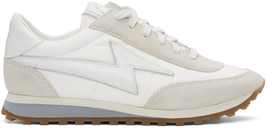 Marc Jacobs White Astor Jogger Sneakers
