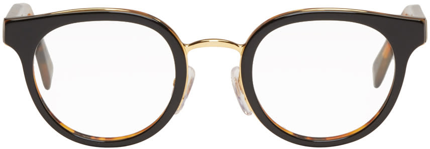 Super Black and Tortoiseshell Numero 22 Glasses