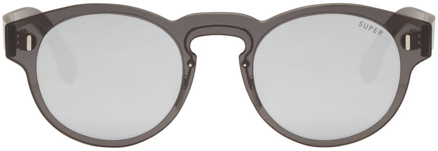 Super Black Duo-lens Paloma Sunglasses