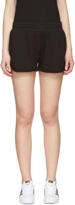 T By Alexander Wang Black Gym Shorts