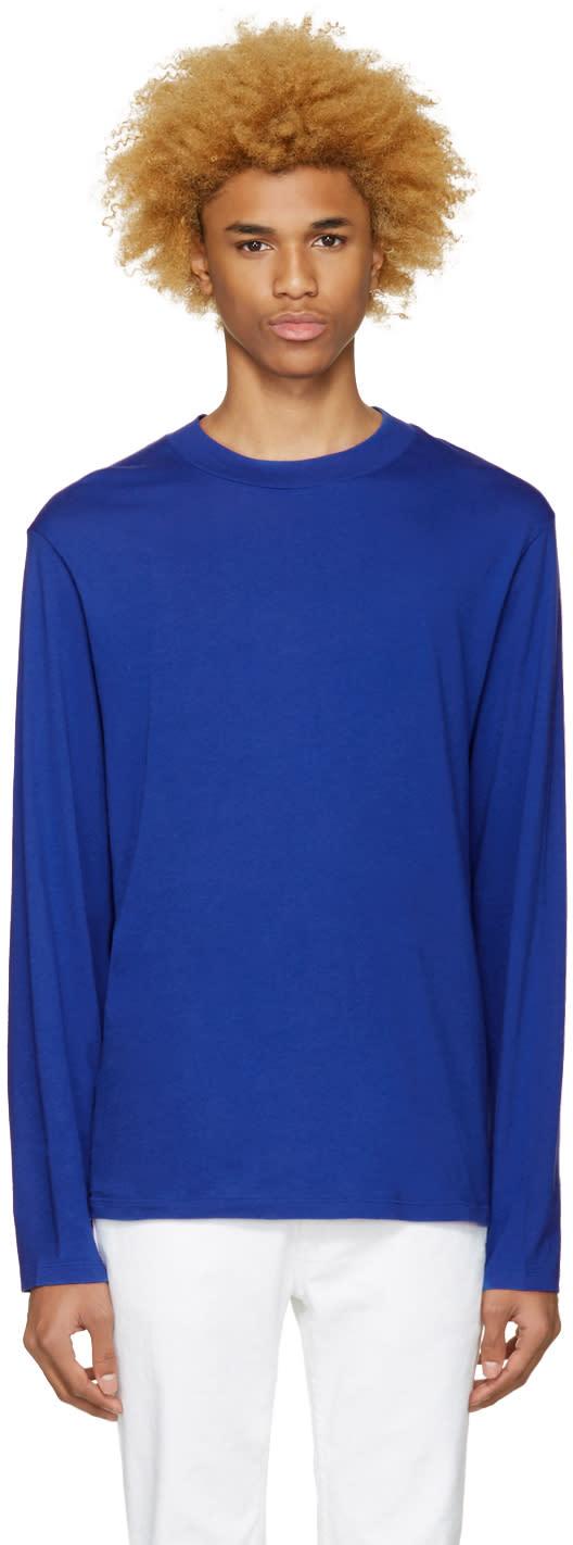 T By Alexander Wang Blue High Neck T-shirt