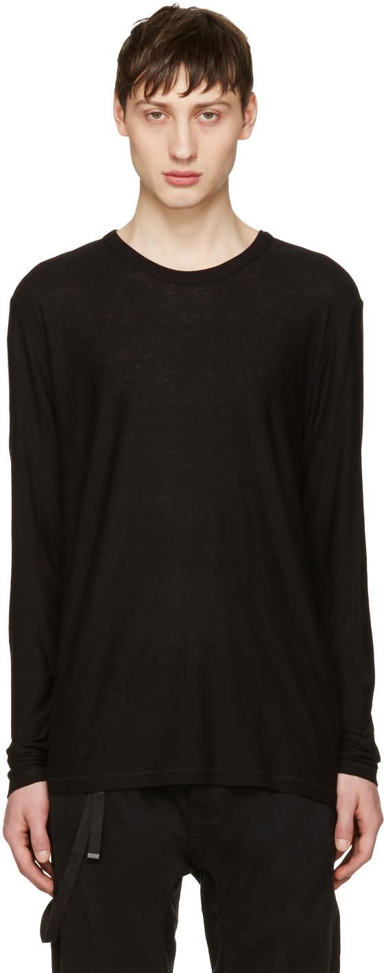 T By Alexander Wang Black Long Sleeve T-shirt